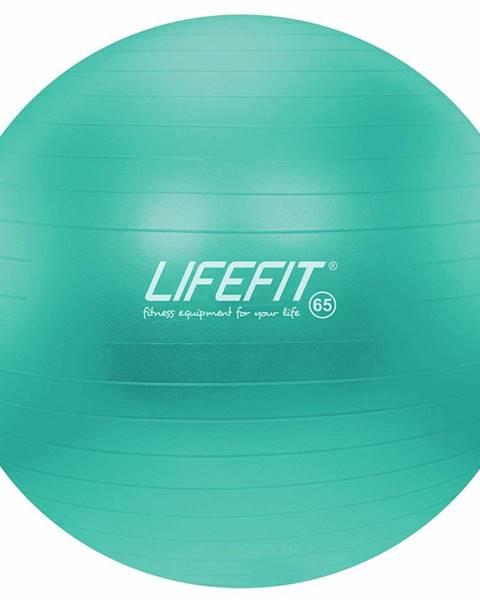 Lifefit Gymnastický míč LIFEFIT ANTI-BURST 65 cm, tyrkysový