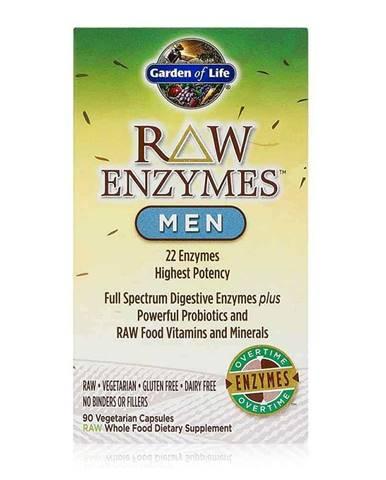 Garden of Life RAW Enzymy Men Digestive Health  - pro muže - podpora trávení 90 kapslí