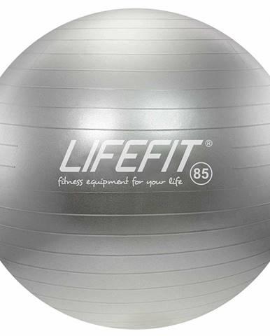 Gymnastický míč LIFEFIT ANTI-BURST 85 cm, stříbrný