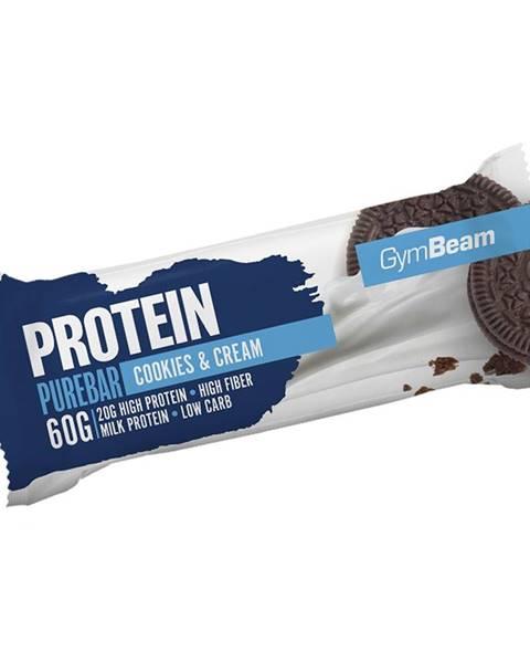 GymBeam GymBeam Protein PureBar 60 g cookies & krém
