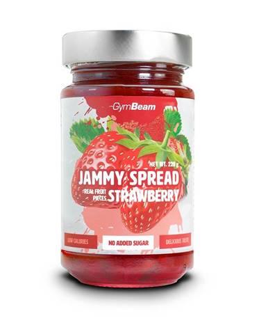 GymBeam Džem Jammy Spread 220 g lesné ovocie