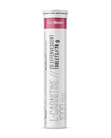 GymBeam L-carnitine 1000 mg 20 tab. malina