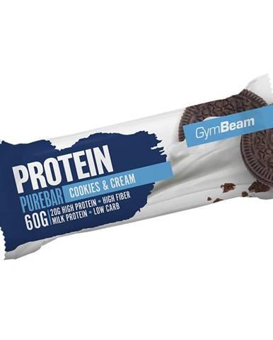GymBeam Protein PureBar 60 g cookies & krém