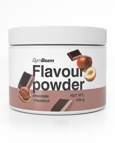 GymBeam Flavour powder 250 g arašidové maslo karamel
