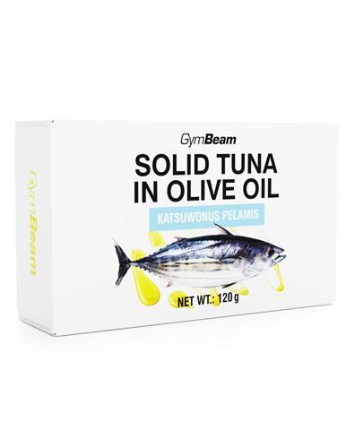 GymBeam Tuniak v olivovom oleji 120 g