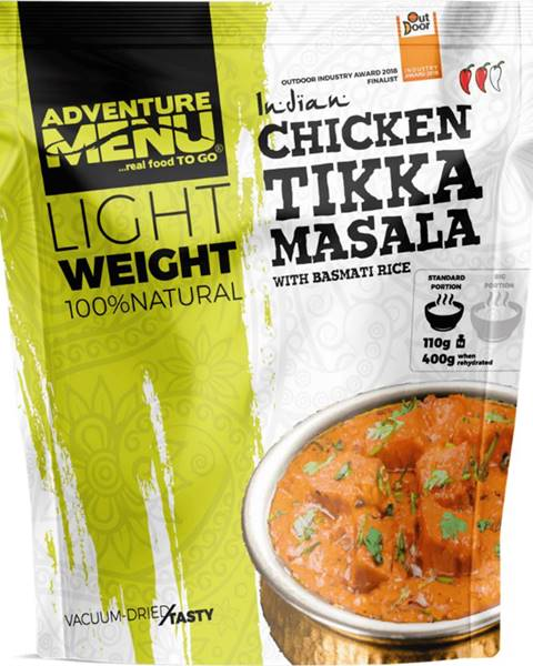 Adventure Menu Adventure Menu Kurča Tikka Masala s ryžou basmati 120 g