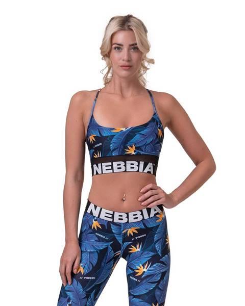 Nebbia NEBBIA Športová podprsenka Earth Powered Blue  XS
