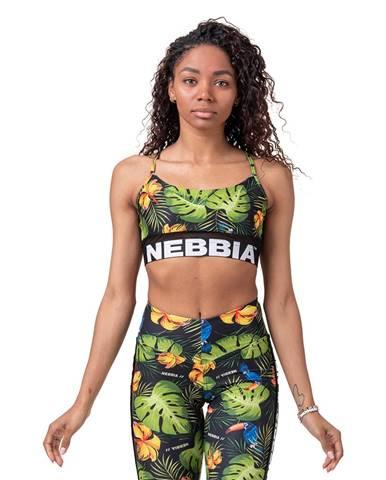 NEBBIA Športová podprsenka Earth Powered Green  XS