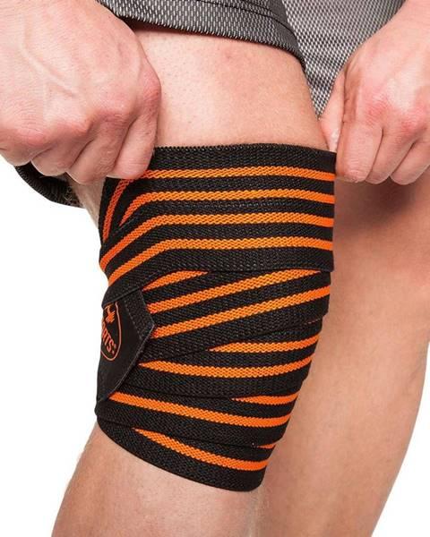 C.P. Sports C.P. Sports Profi bandáž na kolená čierno-oranžová