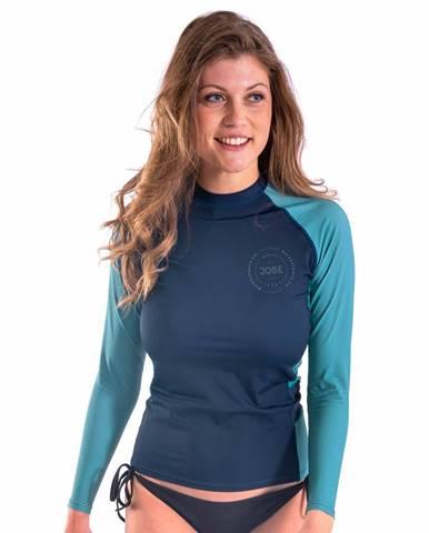 Dámske tričko pre vodné športy Jobe Rashguard s dlhým rukávom Midnight Blue - S