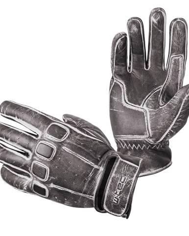Kožené moto rukavice W-TEC Rifteur čierna - S