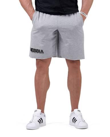 Pánske šortky Nebbia Legday Hero 179 Light Grey - M