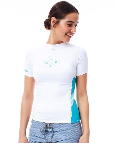 JOBE Dámske tričko pre vodné športy Jobe Rashguard biela - S