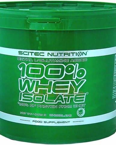 Scitec Nutrition 100 WHEY ISOLATE 4000 g 4000g, čokoláda