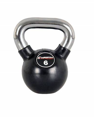 Pogumovaná činka inSPORTline Ketlebel Profi 6 kg