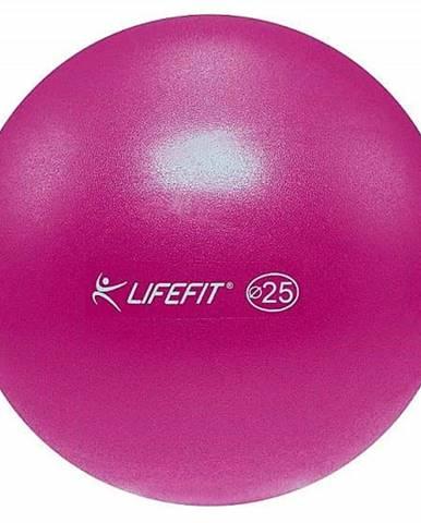 Míč OVERBALL LIFEFIT 25cm, bordó