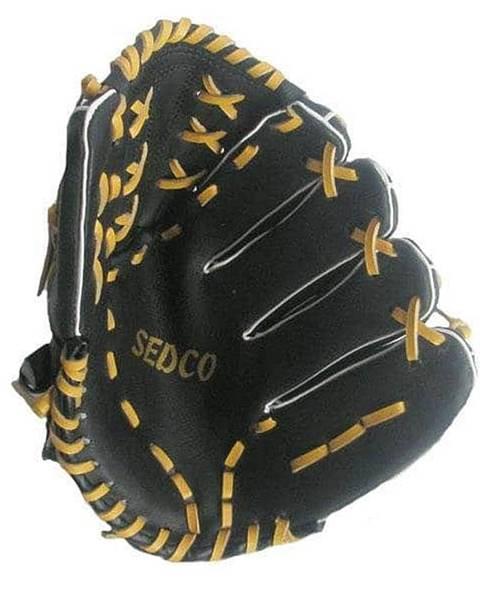 "Sedco Baseball rukavice DH-120 syntetická useň 12"" Richmoral černá - pravá"