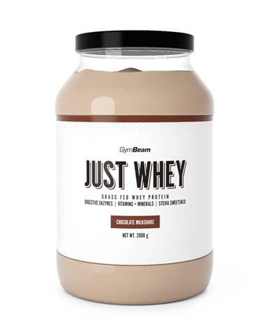 GymBeam Just Whey 1000 g biela čokoláda kokos