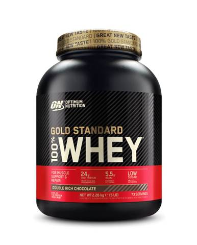 Optimum Nutrition 100 Whey Gold Standard 908 g banánový krém