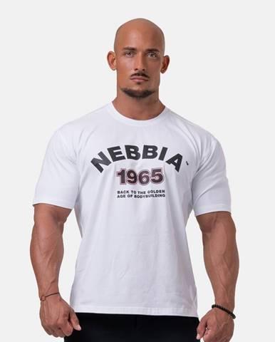 NEBBIA Tricko Golden Era White  M
