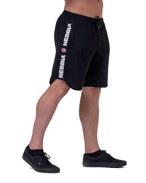 Nebbia Pánske šortky Nebbia Legend Approved 195 Black - M