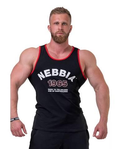 Pánske tielko Nebbia Old School Muscle 193 Black - M
