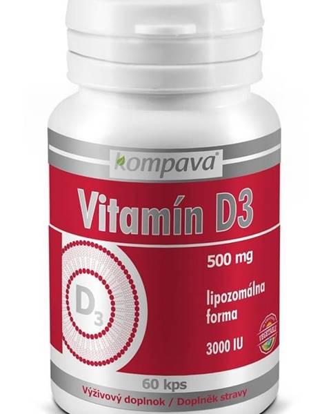 Kompava Vitamin D3 - Kompava 60 kaps.