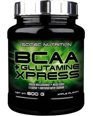 BCAA+Glutamine Xpress od Scitec Nutrition 600 g Apple