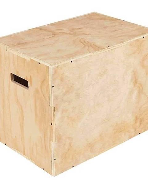 Sedco Plyometrická bedna dřevěná Sedco WOOD 40/50/60 cm