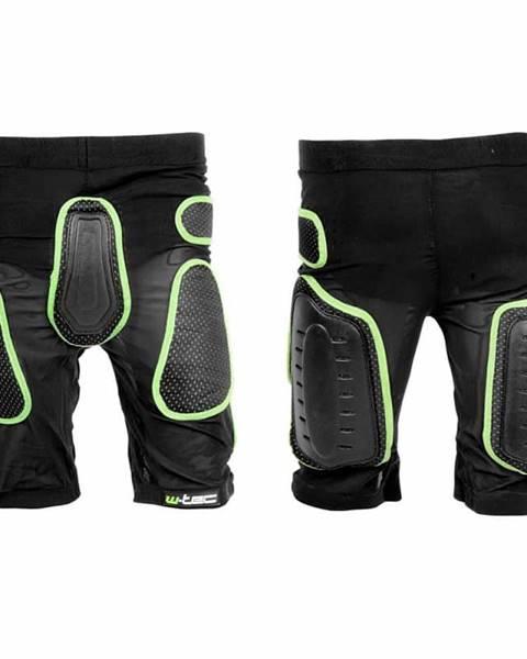 W-Tec Kraťasy s protektormi W-TEC Xator Farba čierno-zelená, Veľkosť XS