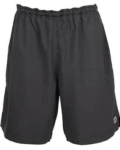 Wilson Rush 9 Woven Short pánské šortky černá Velikost oblečení: XXL