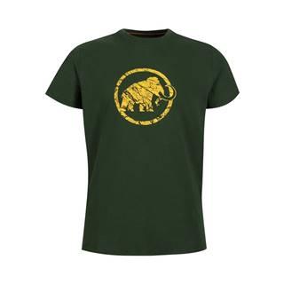 Pánske tričko MAMMUT Logo T-Shirt Men Woods - XXL