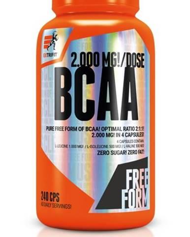 BCAA 2000 mg Optimal Ratio 2:1:1 - Extrifit 240 kaps.