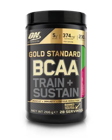 Optimum Nutrition Gold Standard BCAA Train Sustain 266 g jablko hruška