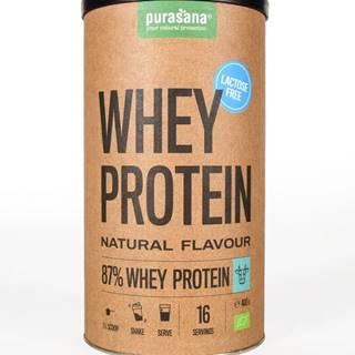 Purasana Whey Protein Lactose Free BIO 400 g prírodná chuť