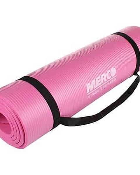 Merco Yoga NBR 10 Mat podložka na cvičení růžová