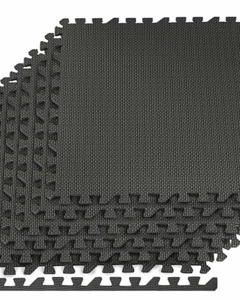 Springos Podložka pod posilovací stroje 6ks 60 x 60 x 1,2 cm černá