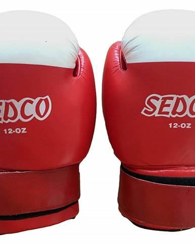 Box rukavice SEDCO 12 OZ - Červená