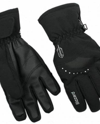 Lyžařské rukavice BLIZZARD VIVA DAVOS, BLACK - 6