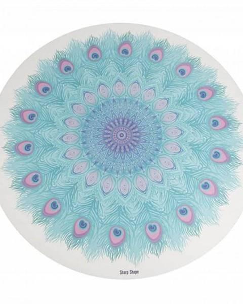 eFitness Podložka na jógu Peacock