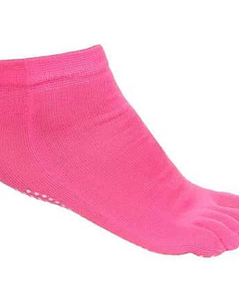 Merco Grippy S1 ponožky na jógu, prstové růžová
