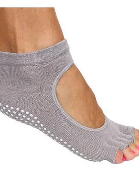 Merco Grippy S2 ponožky na jógu, bezprsté šedá
