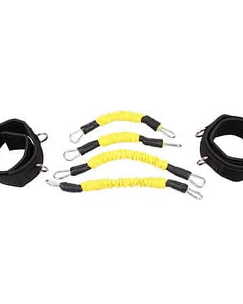 Merco Leg Trainer Set odporové gumy sada žlutá