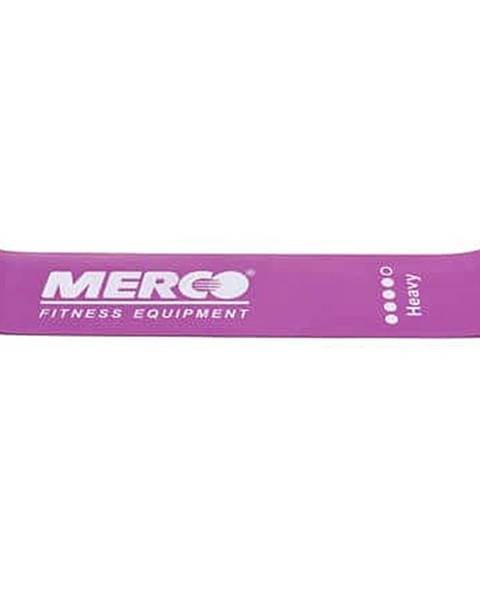 Merco Mini Band posilovací guma fialová