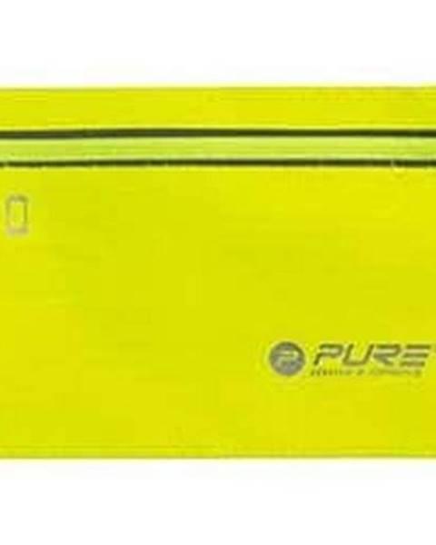 Pure2Improve Běžecký reflexní opasek na telefon - Žlutá