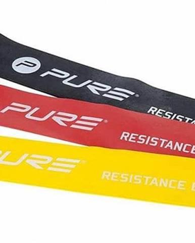 Odporová fitness aerobic guma P2I SET 3 ks - 30 x 5 cm