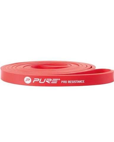 Posilovací guma odporová P2I 101x1,3x0,55 cm - Červená