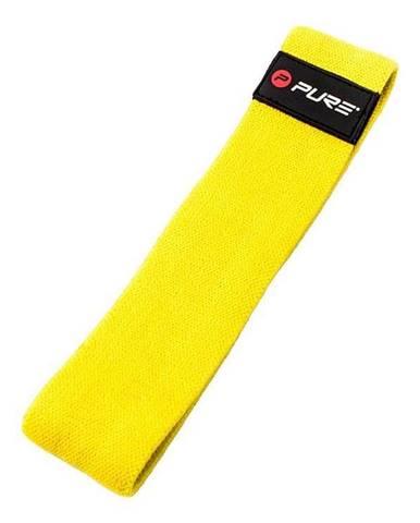 Posilovací odporový pás/guma Pure2Improve - Žlutá