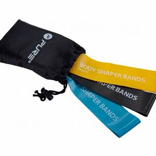 Odporová fitness aerobic guma P2I MAN SET 3 ks