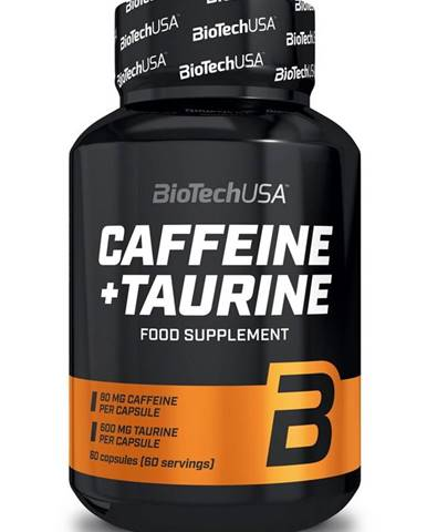 Caffeine + Taurine - Biotech USA 60 kaps.